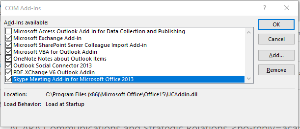 Outlook COM AddIns before DISABLING ALL.PNG
