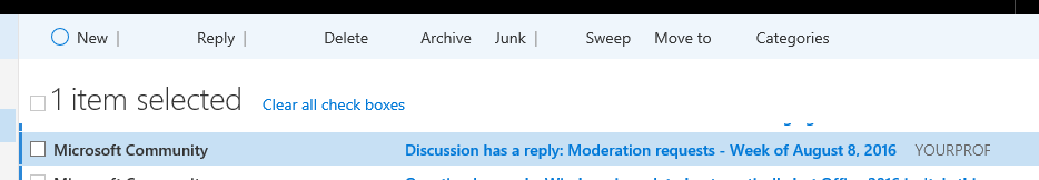Outlook missing tick and options. 2016-08 11th 1820.PNG