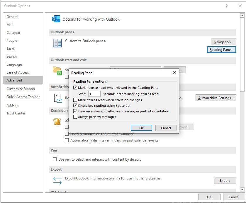Outlook Reading Settings.jpg