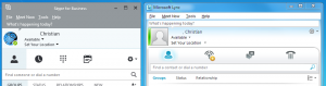 Skype for Business shows the Picture, Lync 2010 doesn't.png